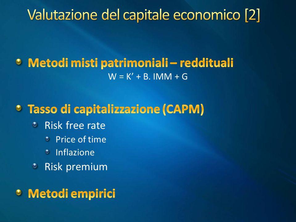 Valutazione del capitale economico [2]